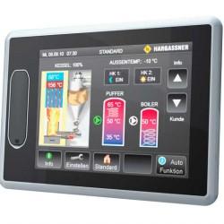 Система управління Hargassner з сенсорним дисплеєм